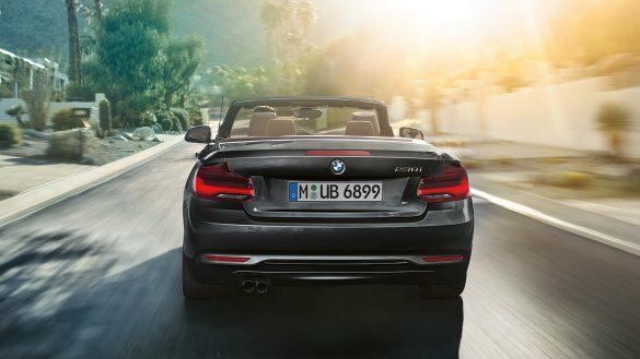 BMW 2er Cabrio Heck