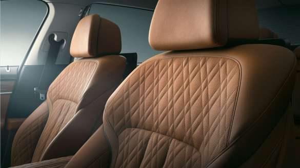 BMW 7er Limousine Leder Nappa