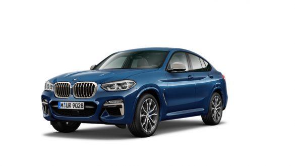 BMW X4 M40d G02 LCI 2021 Facelift Dreiviertel-Frontansicht