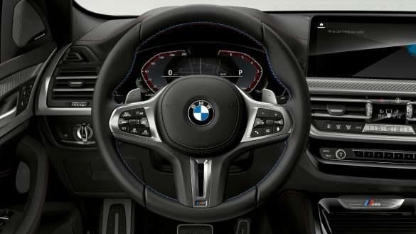 BMW X4 M40i M40d G02 LCI 2021 Facelift M Lederlenkrad