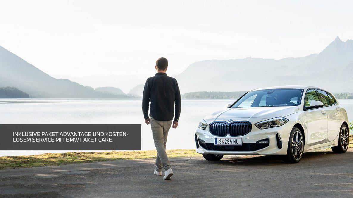 BMW 1er mit kostenlosem Paket Advantage
